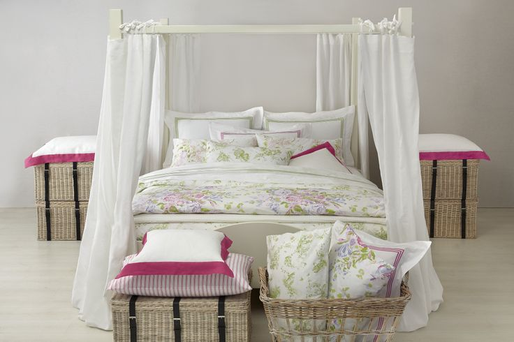 Country style #bellora #pink #bedlinen #flower #homecollection