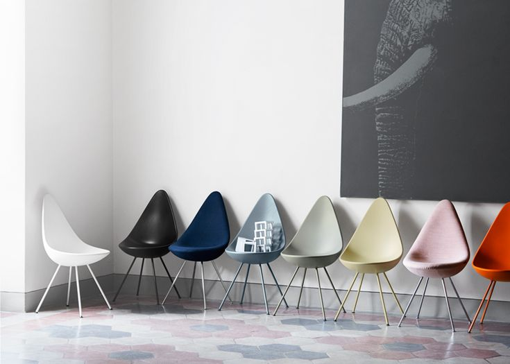 Arne Jacobsen's iconic Drop chair to be reintroduced by Fritz Hansen