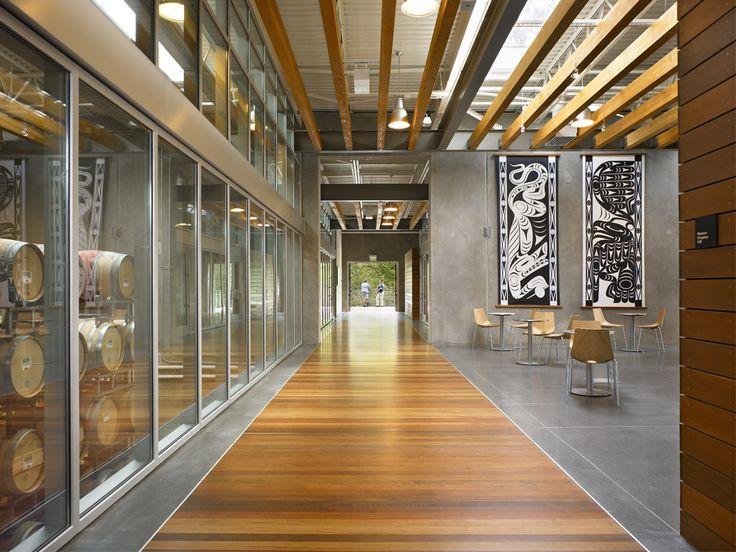Commercial Wine Tasting Room Design | NoveltyHill_Spine_Gallery