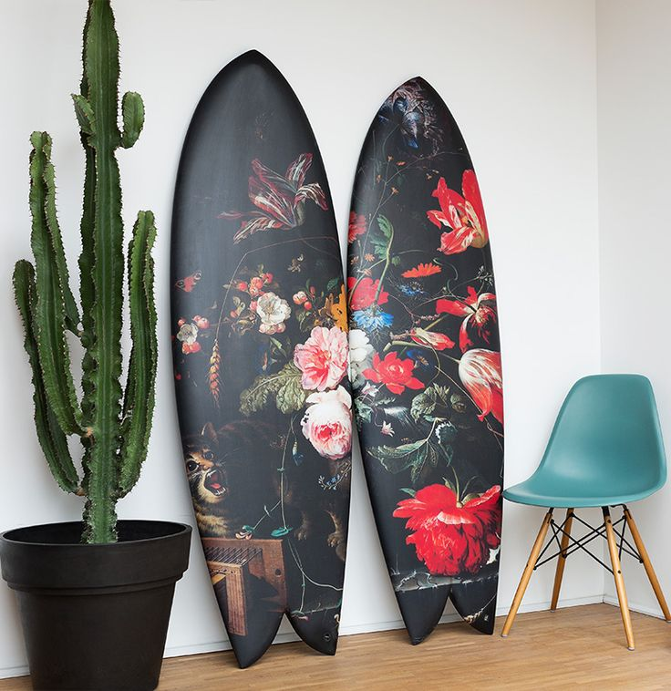 Highsnobiety Teamed Up With boom-art to Make Exclusive Floral Boards