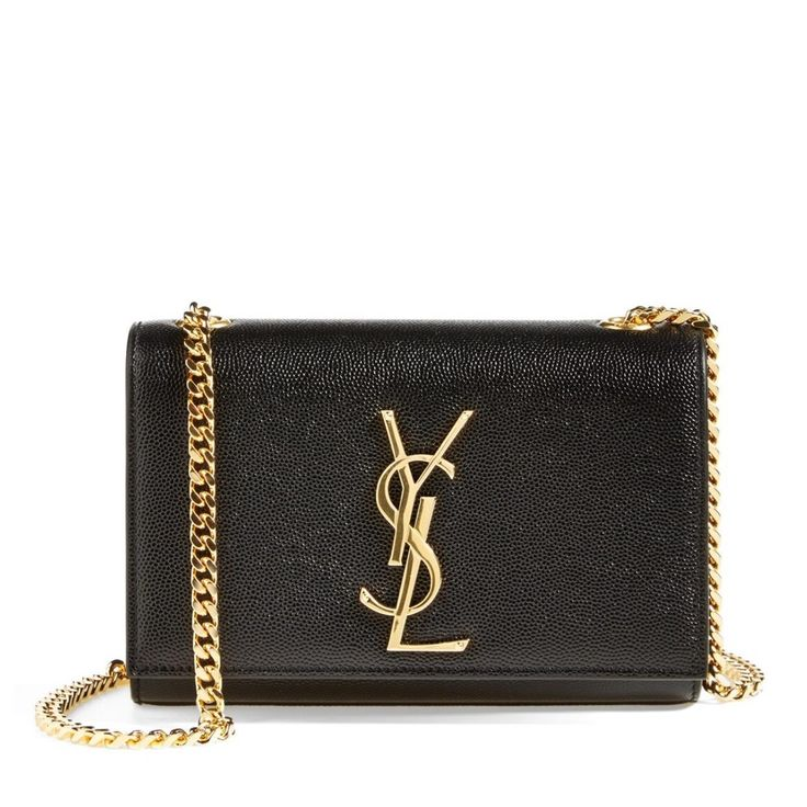 Saint Laurent Monogram Small Leather Chain Black Cross Body Bag. Get the trendiest Cross Body Bag of the season! The Saint Laurent Monogram Small Leather Chain Black Cross Body Bag is a top 10 member favorite on Tradesy. Save on yours before they are sold out!