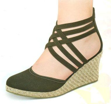 Como Usar Zapatos De Tacon Cuña CentralMODA.COM