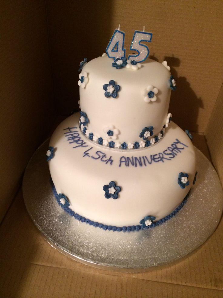Sapphire 45th Wedding Anniversary