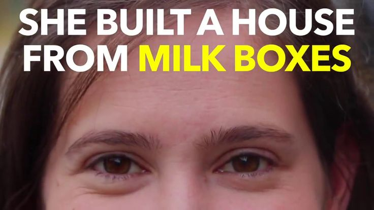Nas Daily : She Built A House From Milk Boxes