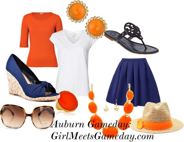 """Auburn University Gameday"" outfit"