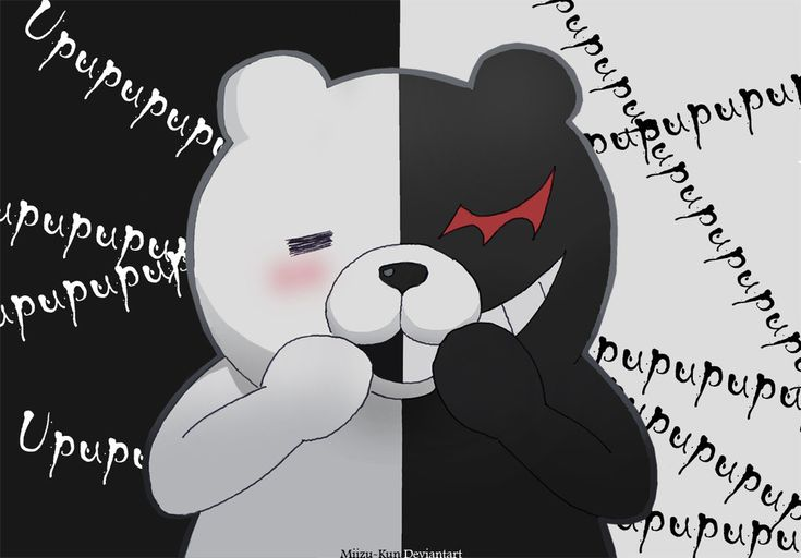 DeviantArt: More Like Danganronpa -Monokuma- by Miizu-Kun