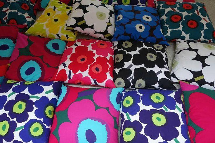 Marimekko (bright, bold clothing designs) - Helsinki, Finland