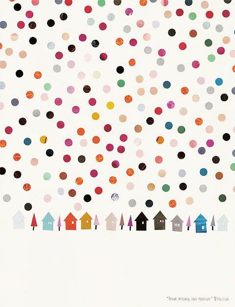 vogue october 2010 Confetti - Takashi Iwasaki