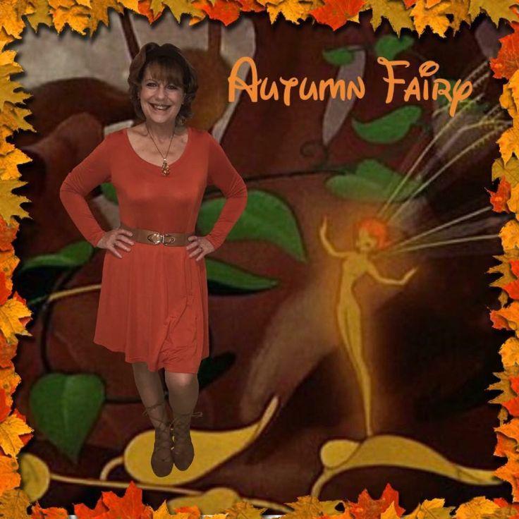 Disney's Fairies, Disney Movie, Disney's Fantasia 2000, Disney's Fantasia 2000 Disneybounds, Disney Fairy Disneybound, Disney's Autumn Fairy, Autumn Fairy Disneybound, Orange Dress Disneybound, Disneybound Brown, Disneybound Orange