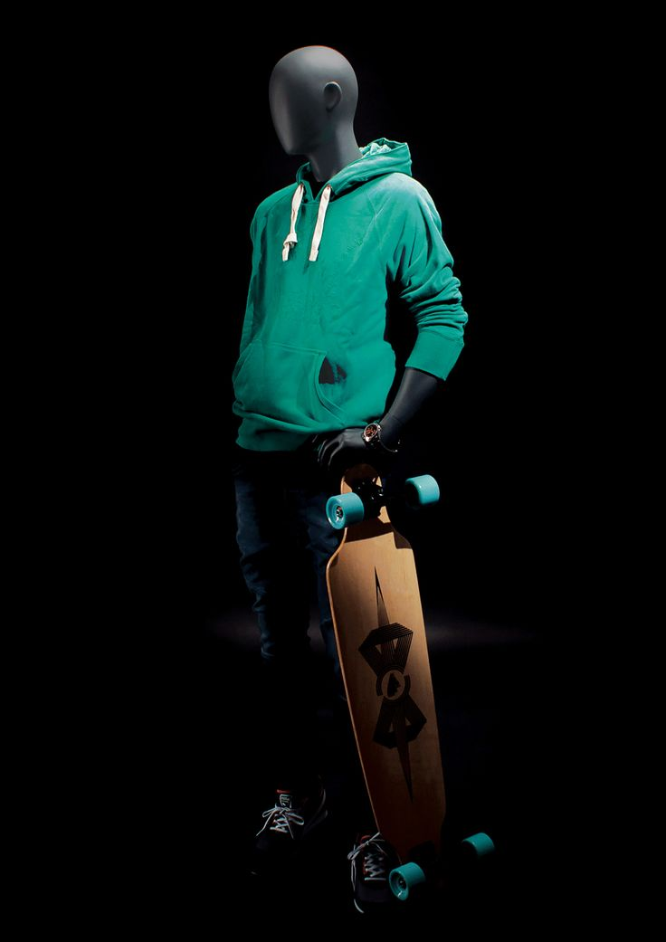 LOFT Collection by More Mannequins #MaleMannequin #skate #longboard