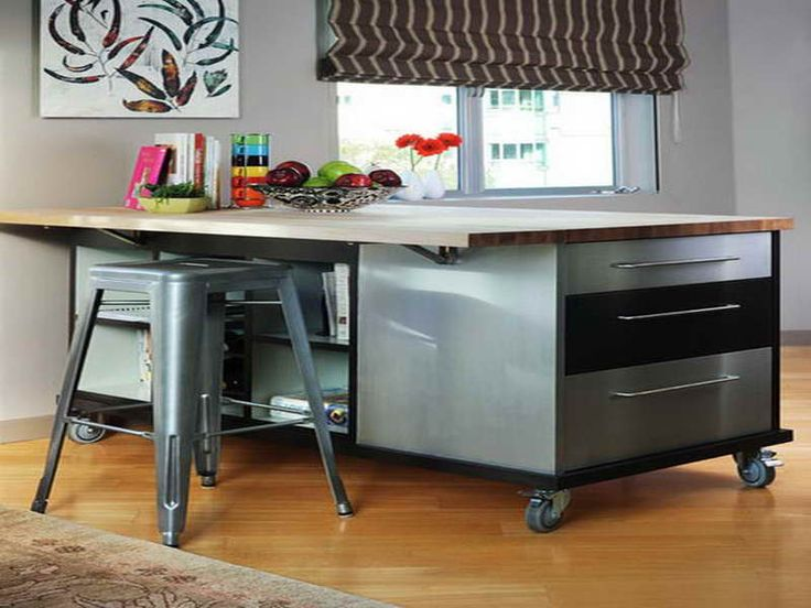 25 Best Kitchen Islands On Wheels Ideas Images On Pinterest Kitchen Carts Kitchen Islands And