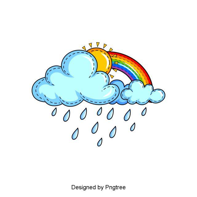 2020 的 Beautiful Cool Cartoon Hand Painted Rain Water ...