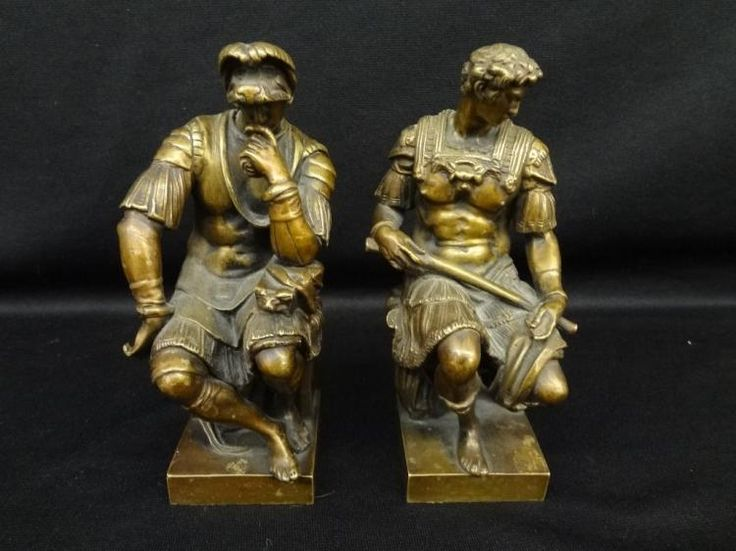 Buy online, view images and see past prices for Ron Liod Sauvage Bronzes Lorenzo de Medici and Giuliano de Medici. Invaluable is the world's largest marketplace for art, antiques, and collectibles.