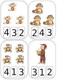 """Résultat de recherche d'images pour """"activité singe maternelle"""""""