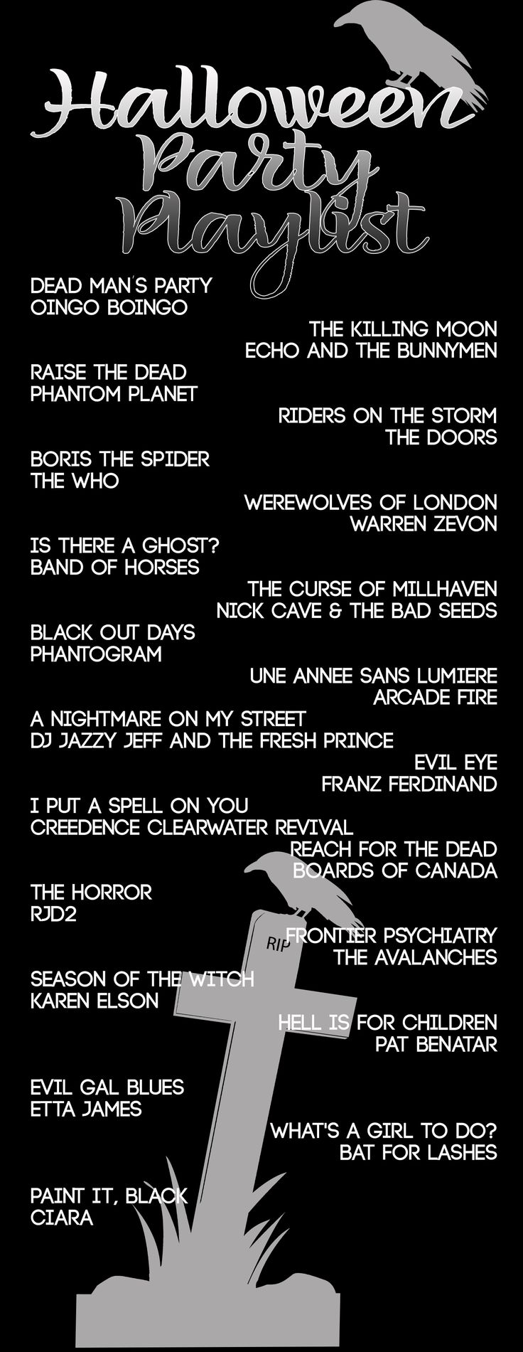 54 best Halloween Playlists images on Pinterest