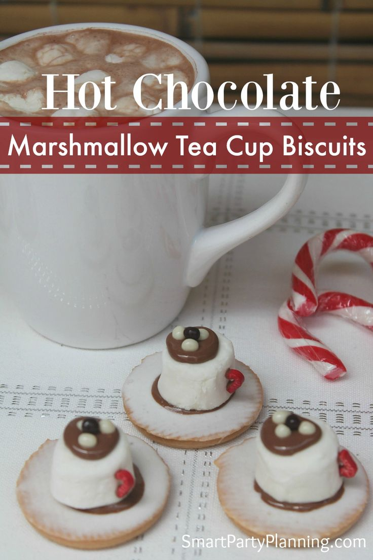 Marshmallow tea cup biscuits are a super fun and easy party food. They are a hit with the kids, taste great and take no time at all to make. A party winner!