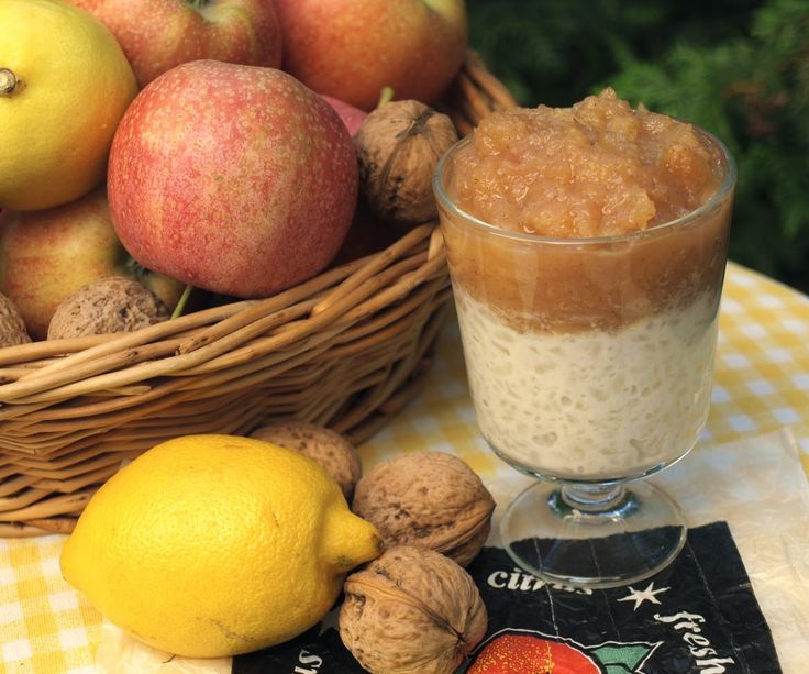 hogymegtudjuknézni: Tejberizs és karamellás almalekvár