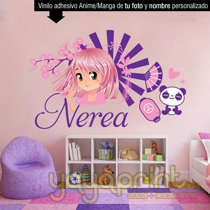 71 best vinilos ni a decoraci n for Vinilo habitacion nina
