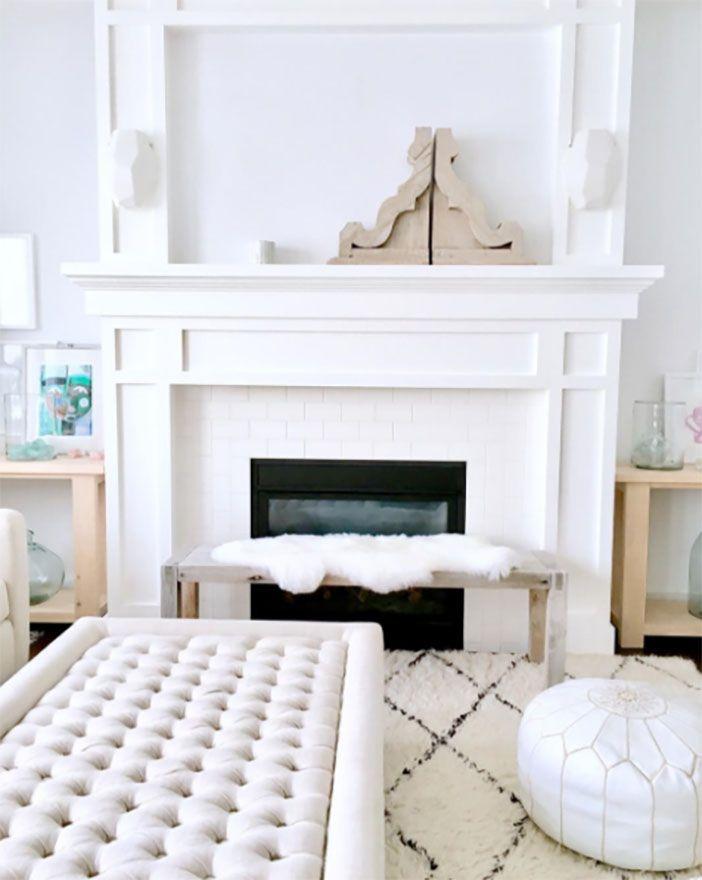 Now On The Blog My Instagram Interior Design Faves Sswansondesign Jillian HarrisFireplace