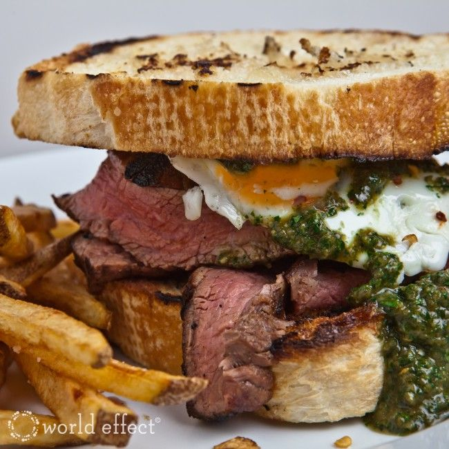 Chimichurri Steak Sandwich #food #healthy #tasty Visit us: http://explodingtastebuds.com/