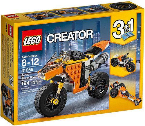 LEGO Creator Sunset Street Bike (31059)
