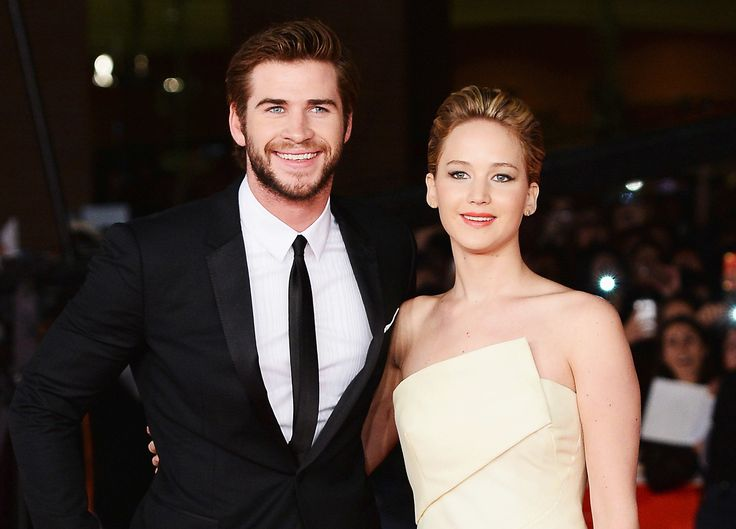 Jennifer Lawrence admits to kissing Hunger Games costar Liam Hemsworth off camera!