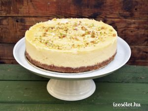 Sajttorta - (New York cheesecake)