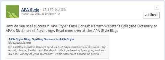 APA Style - how to cite social media - tweet twitter