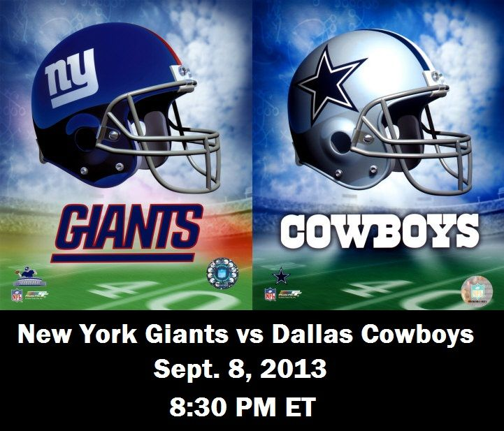 New York Giants vs Dallas Cowboys Live NFL Streaming