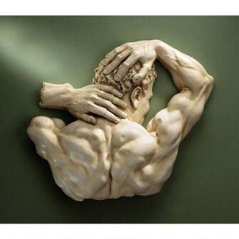 Theseus Sculptural Wall Frieze