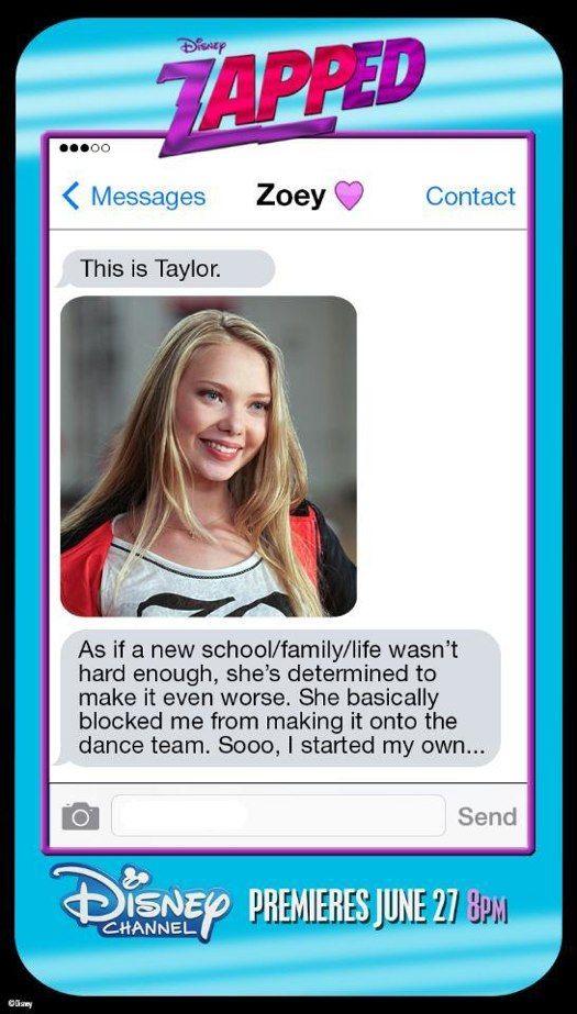 "Disney Channel ""Zapped"" movie!"