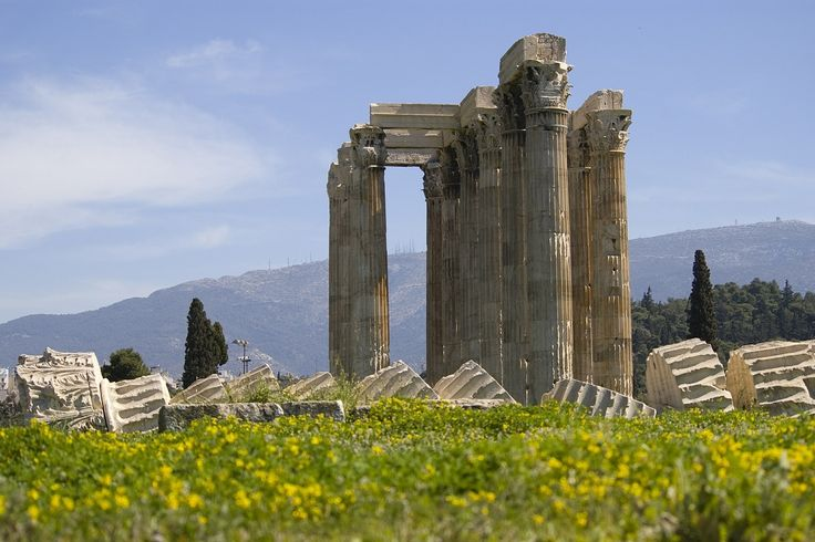 Athens' Temple of Olympian Zeus to Undergo Restoration Works.