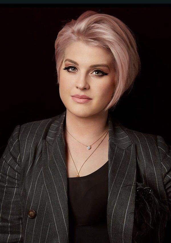 Kelly Osbourne Appearance on 'The Masked Singer' Helped Her 'Find' Herself Again | Kelly osbourne hair, Short hair styles for round faces, Sharon osbourne hair
