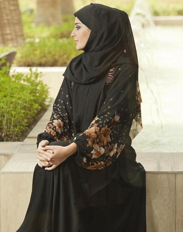 abayas 2014 high end fashion | Unique Black Abaya Styles 72