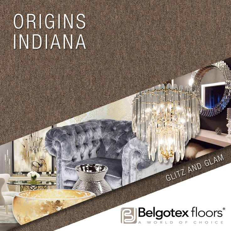 TREND: Glitz and Glam - Rich, velvety fabrics with gold and shiny ccents reflect an opulent lifestyle.
