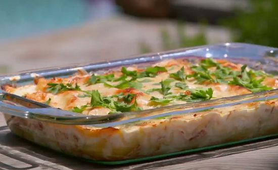Tilly's meaty loaded lasagne on Matilda and the Ramsay Bunch