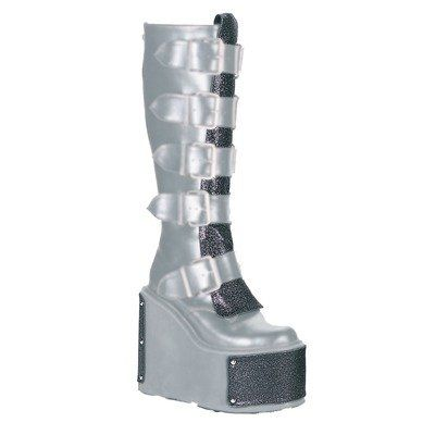 Demonia Women's TR-800-M Platform Black Boot 1 M