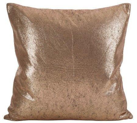 Saro Lifestyle Shimmering Metallic Throw Pillow