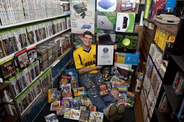 World's Biggest Gaming Collection worth over $700,000 via Reddit user OgodHOWdisGEThere