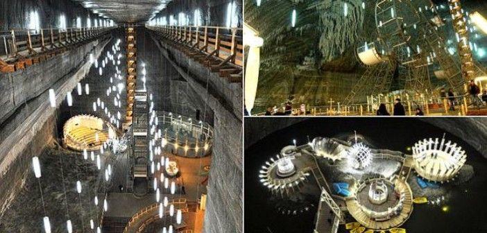 Salina Turda: Romanian Salt Mine Turned Into a Museum