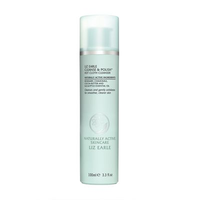 Look 1 and 2: This amazing fresh cream cleanser is a cult classic. Removes makeup efficiently while leaving your skin feeling great. Liz Earle Cleanse & Polish Hot Cloth Cleanser 100ml