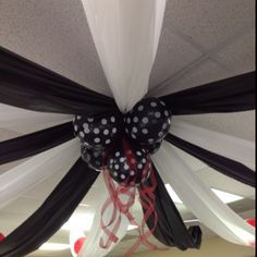 diy black and white party decorations - Google Search