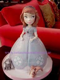 Resultado de imagen para tortas princesa sofia