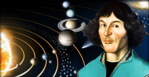 By publishing his evidence that Earth orbits the sun, Nicolaus Copernicus relegated our planet's status from center of the universe to just another planet. In doing so, he began the scientific revolution.