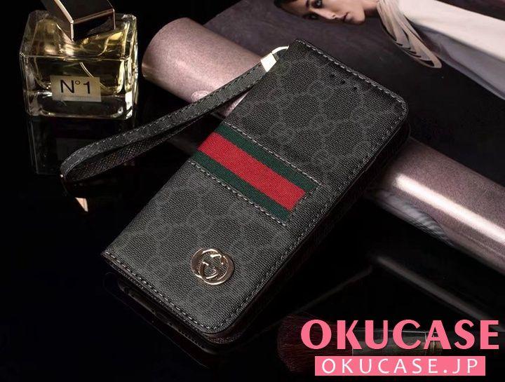 グッチ アイフォン8 ケース 手帳式 iphone7 plusカバー Gucci ブランド ギャラクシー s8/s7 edgeケース ビジネス風 Xperia XZs/XZ用ケース GUCCI iphone6sケース 磁石吸着 全機種対応