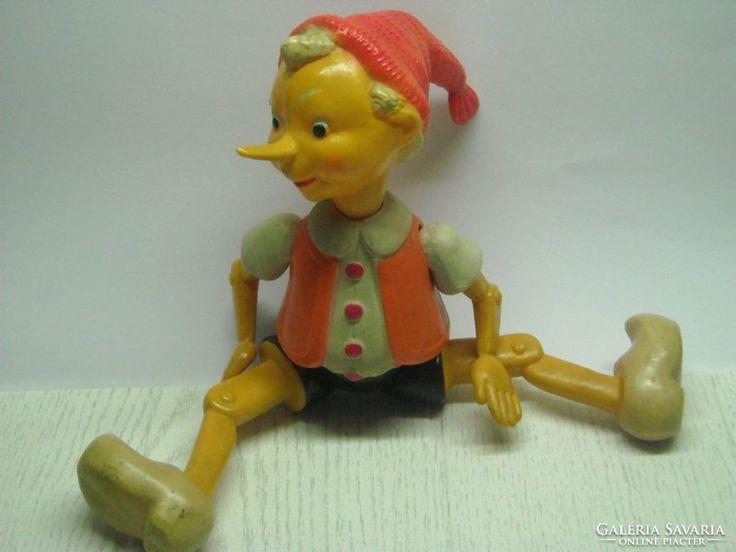GYŰJTŐK!!! Régi Pinokkió bábú
