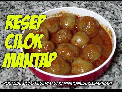 Resep Dan Cara Membuat Cilok Mantap Youtube Food Receipes Food Recipies Food