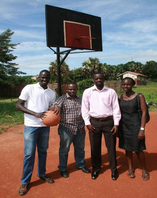 In 2014 Jimmy Amone received a $1,000 seed grant from The Pollination Project and turned his dream of creating a Community Basketball Court into a reality. Located in Kitgum, Uganda amongst a soccer pitch, gardens and dirt roads is a court where people gather to bring social change to society. This follow up grant will help provide new equipment and training.  (Nov. 15 East Africa Hub Grantee - Flow Fund)