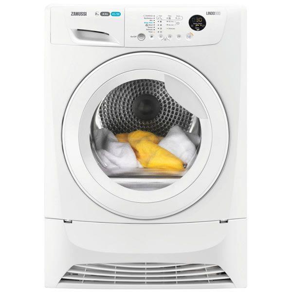 Zanussi ZDC8203W LINDO300 8kg Load Condenser Tumble Dryer Sensor Drying Class B http://www.MightGet.com/january-2017-13/zanussi-zdc8203w-lindo300.asp