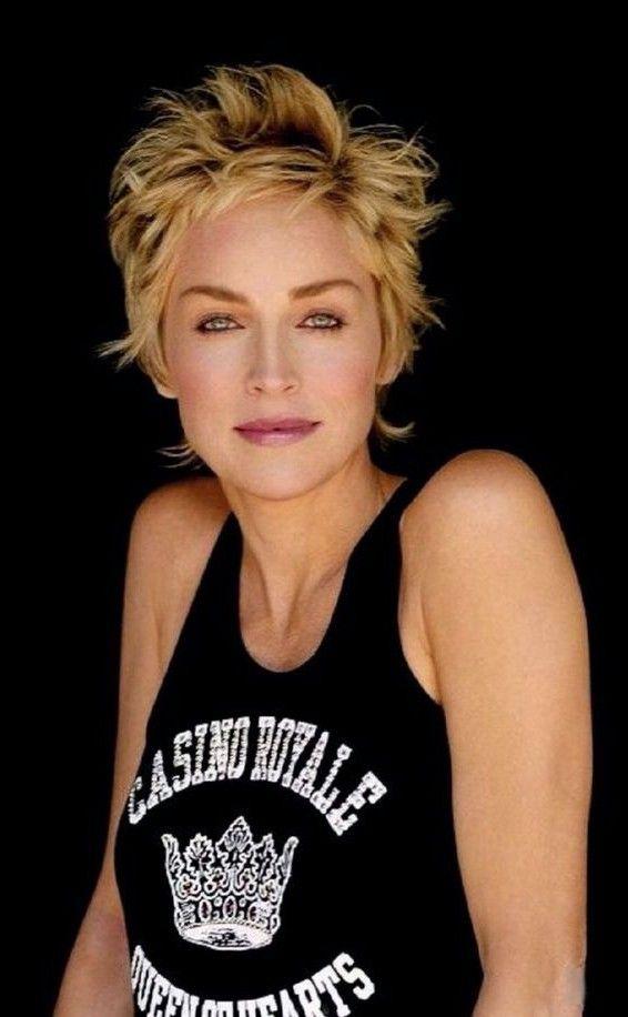 Sharon Stone Short Hair Styles Sharon Stone Short Hair